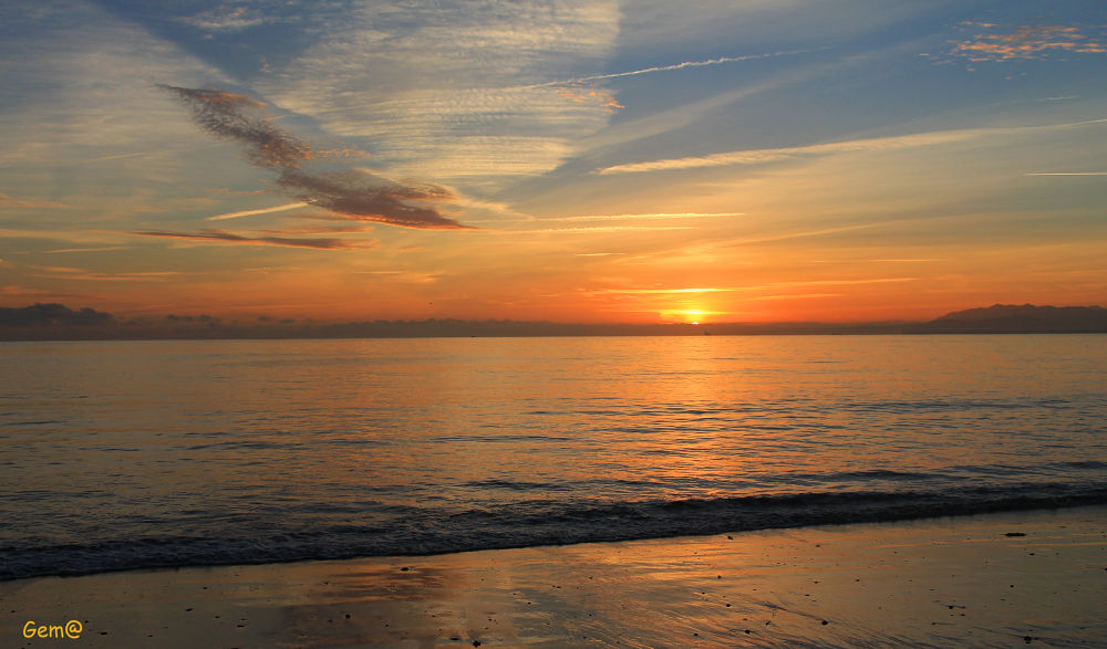 Sunrise by Gema González