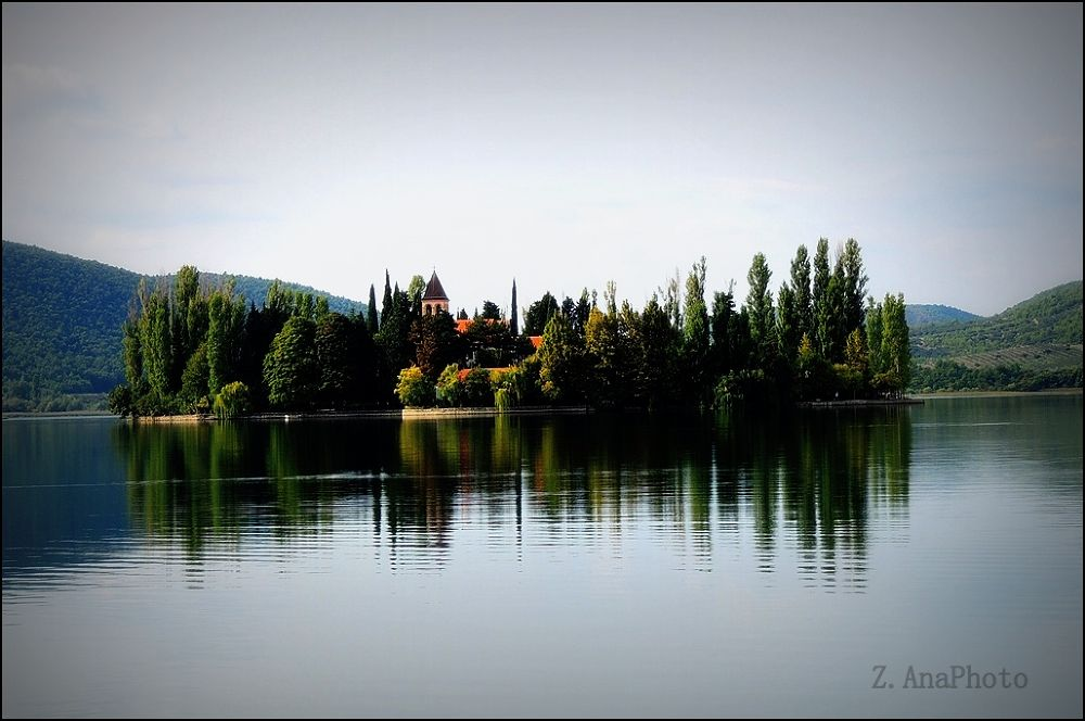 Krka ... National Park - Visovac Croatia ! by Zec Ana