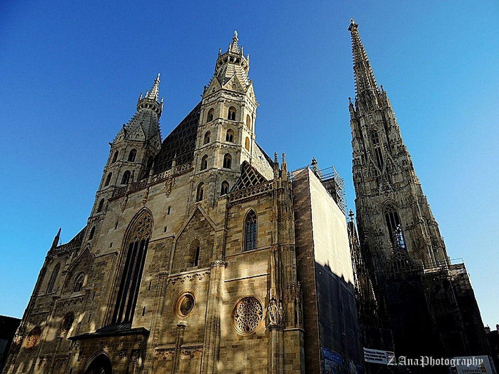 St. Stephen's Cathedral, Vienna, Austria! by Zec Ana