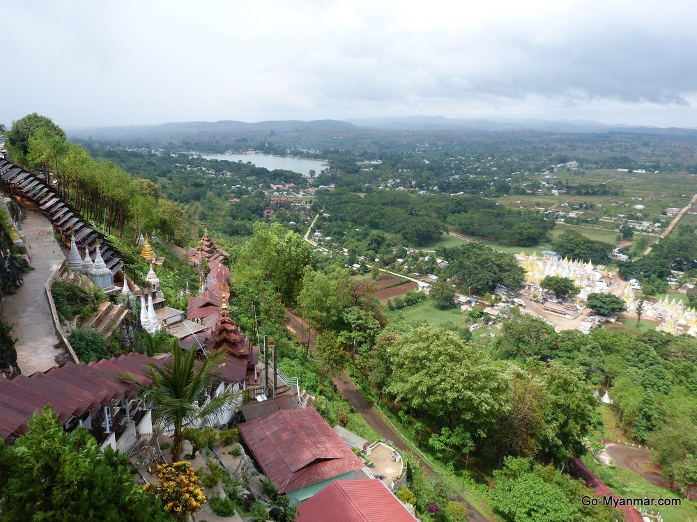 View towards Pindaya caves, Shan State by Go-Myanmar.com