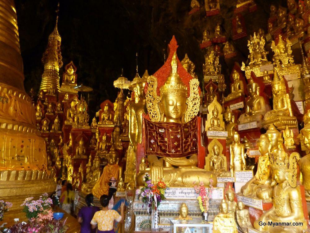 Pindaya caves, Shan State by Go-Myanmar.com