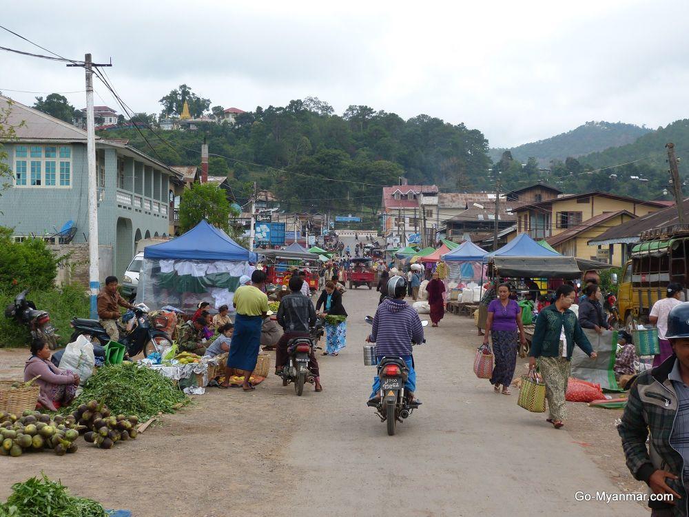 Photo in Travel #kalaw #shan state #myanmar #burma #market