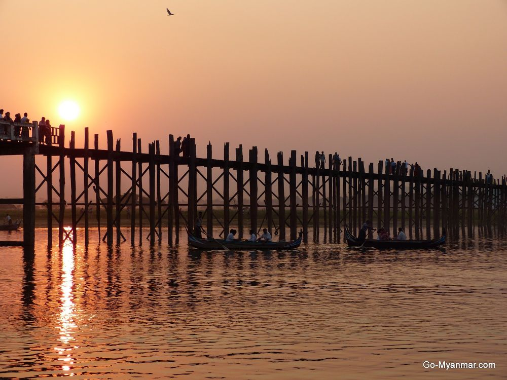 Photo in Random #u bein bridge #mandalay #myanmar #burma