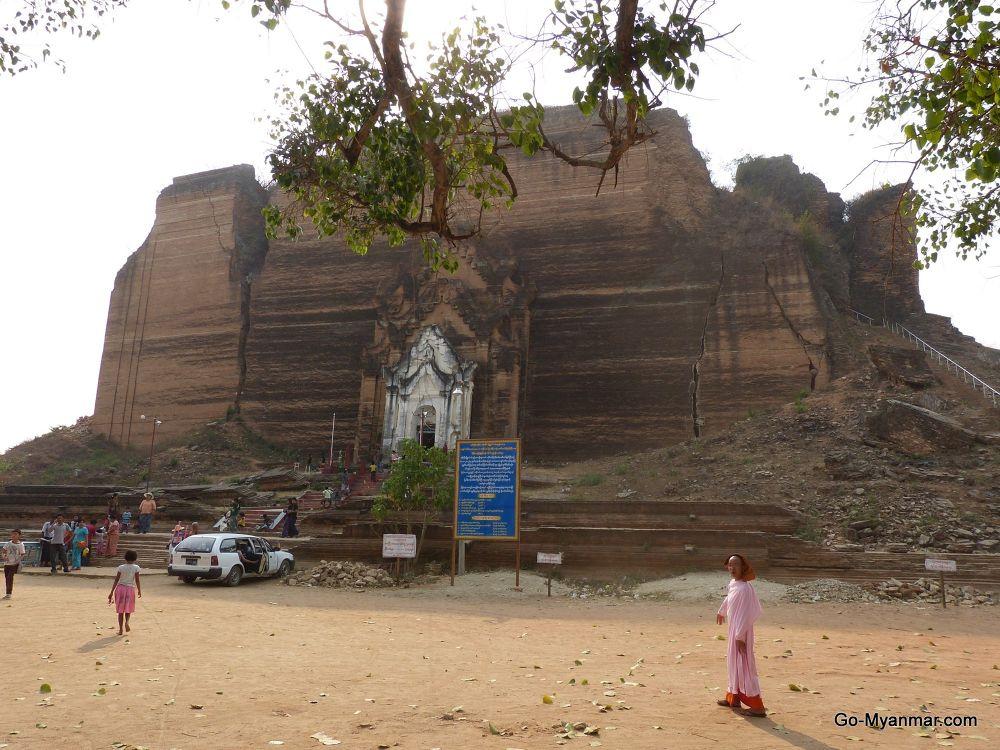 Photo in Travel #mingun #sagaing #myanmar #burma