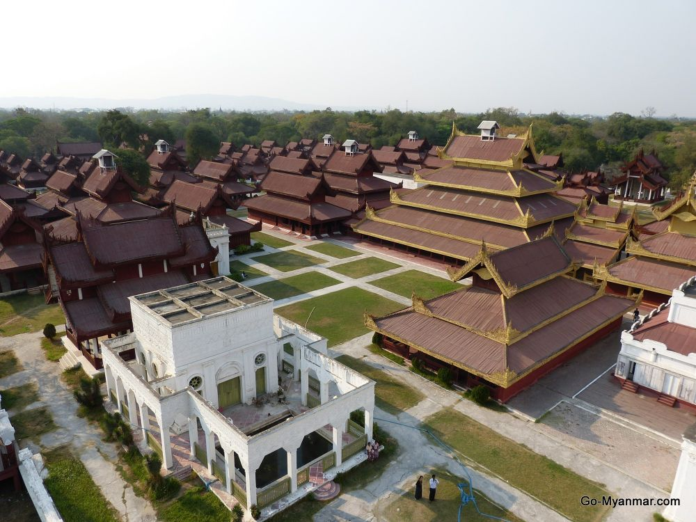 Photo in Travel #mandalay palace #myanmar #burma