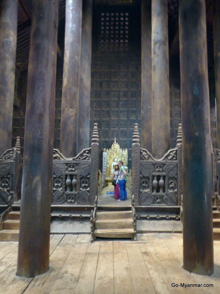 Bagaya Monastery and school, Inwa by Go-Myanmar.com