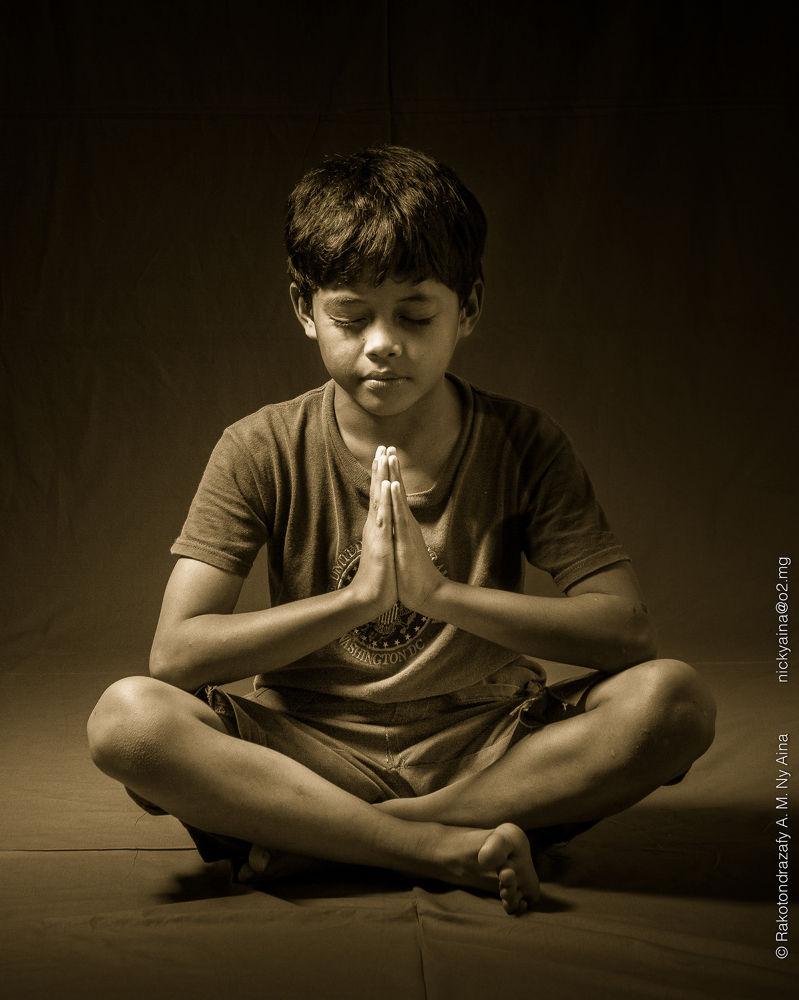 Meditation by nickyaina