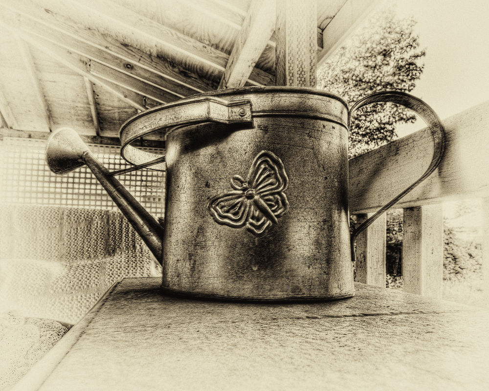Watering Can by mwbergeron01