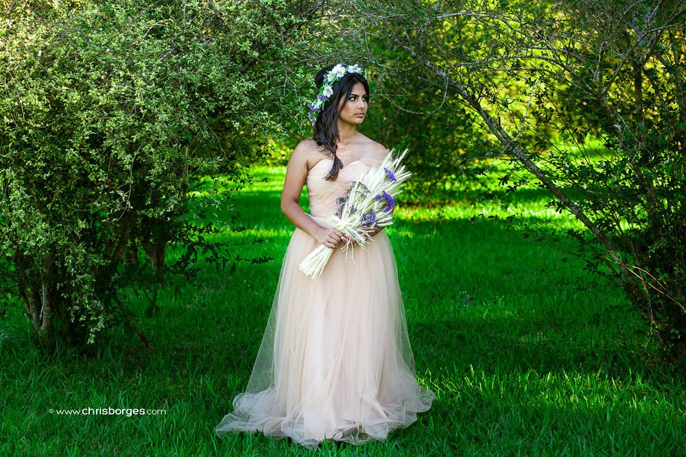 Naturally bride by Chris Borges | Love Photography