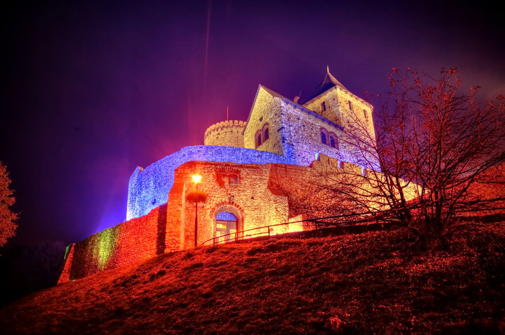 Castle From Bedzin (Poland) by themackbet