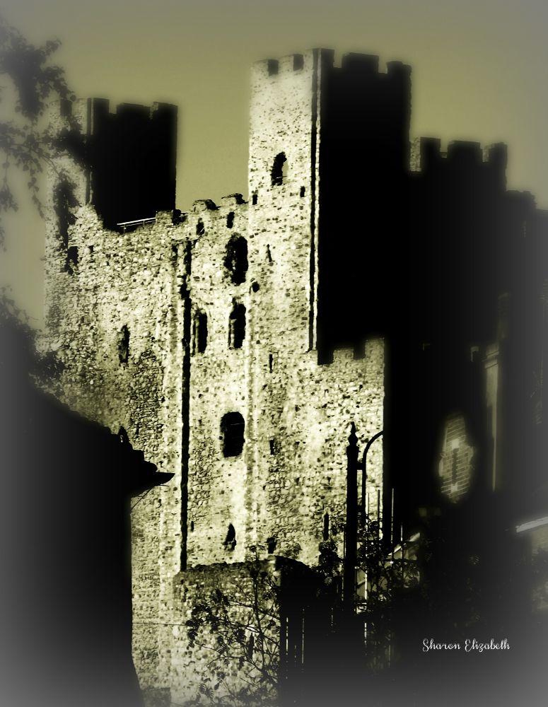 Rochester Castle by shazbuddyhollyporter