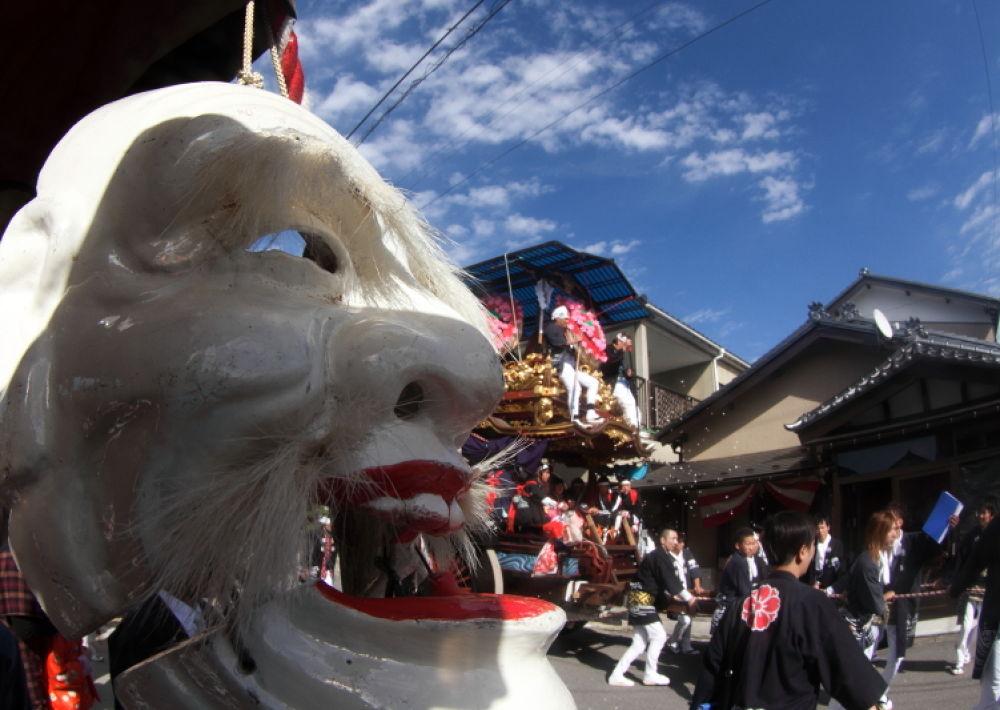 mask by Tetsuo Yokoyama