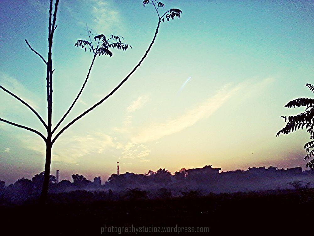 Evening view!! by Raman Gaba