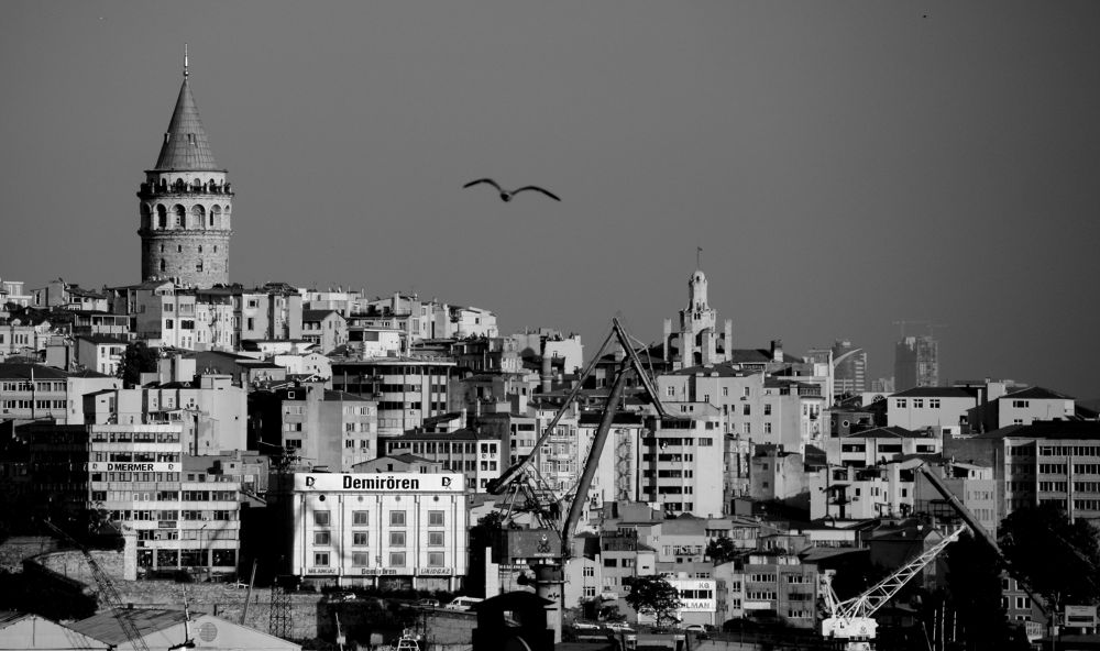 Galata Tower by Zafer Ergen