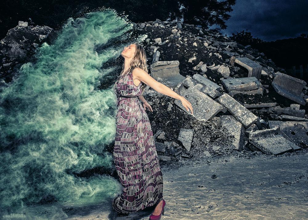Photo in Random #farina #flour #dino #powder #ekimpix #model