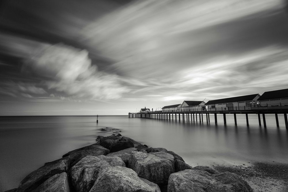 Photo in Landscape #southwold #long exposure