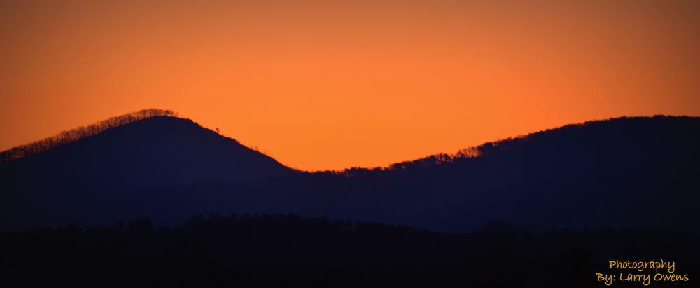 North Georgia Sunrise by larryowens5268