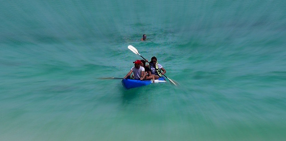 Photo in Random #boating #sea #blue #boat #people #swimming #colour #adventure #white #red