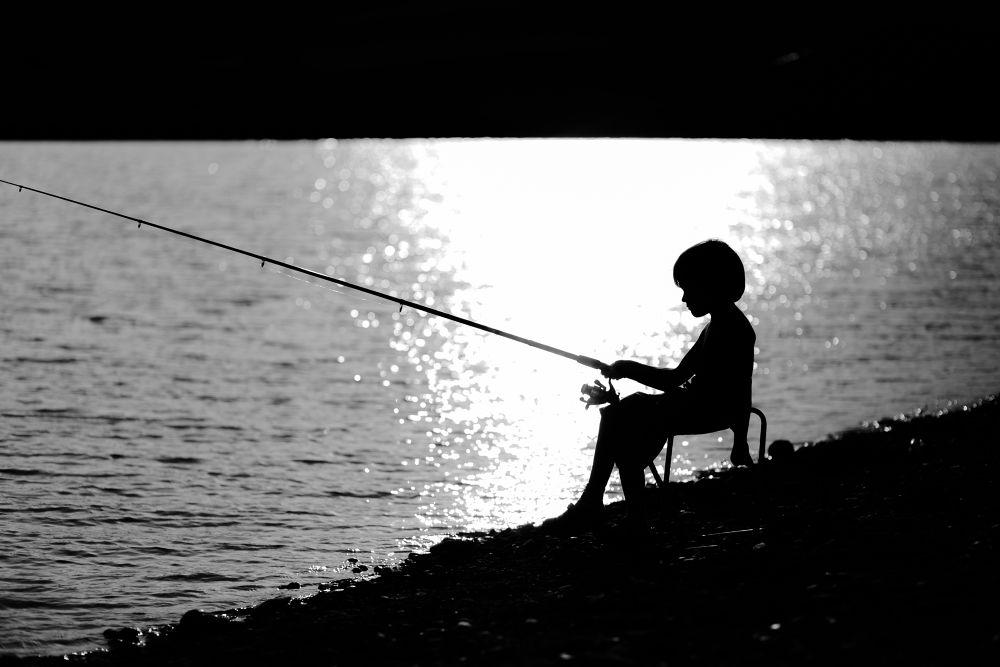 Little fisherman by Deata