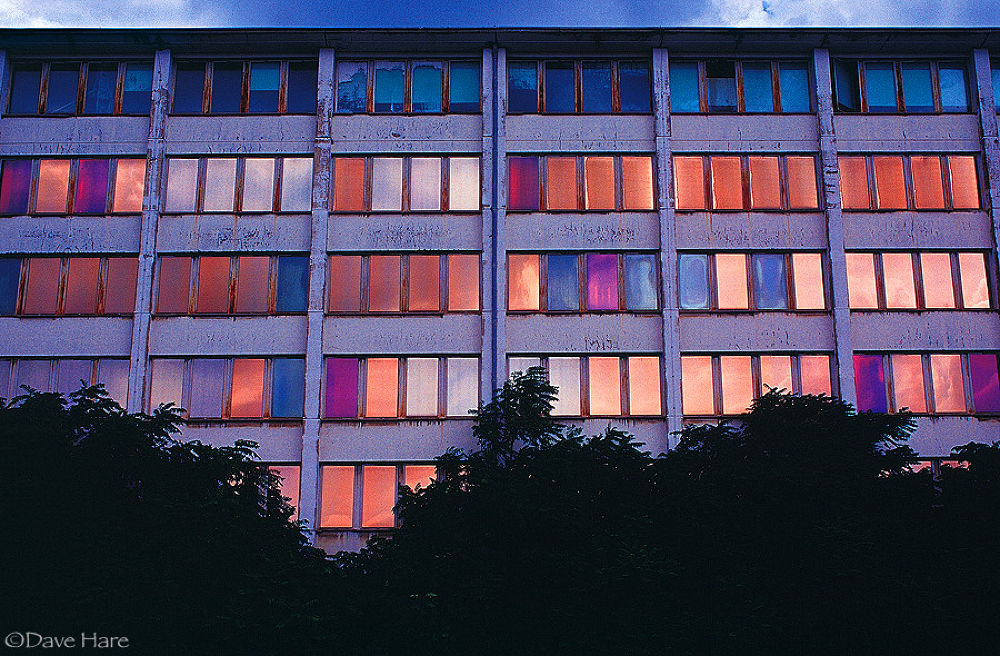 Photo in Architecture #windows #berlin #germany #colours #light #dave hare