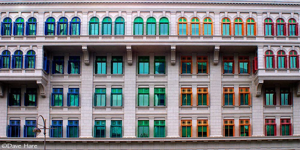 Windows in Singapore by davehare
