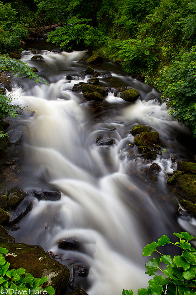 Welsh Falls by davehare