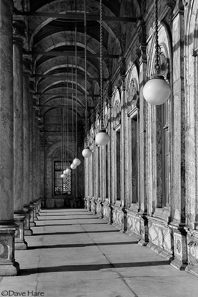 Photo in Architecture #egypt #egyptian #corridor #mosque #religion #religious #cairo #dave hare