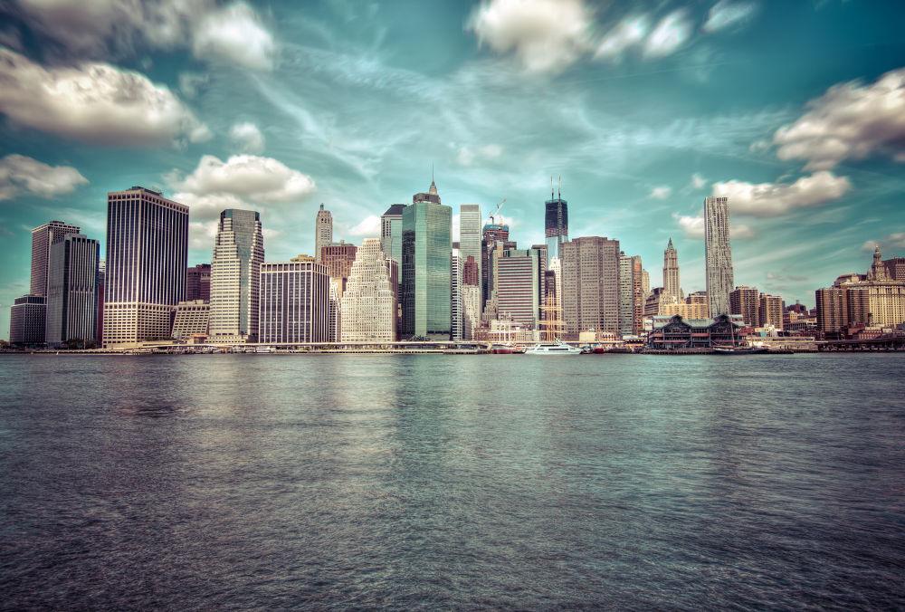 New York - HDR manhattan by Amadoresquiu