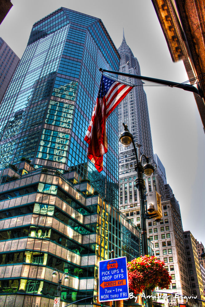 New York - HDR Chrysler building by Amadoresquiu