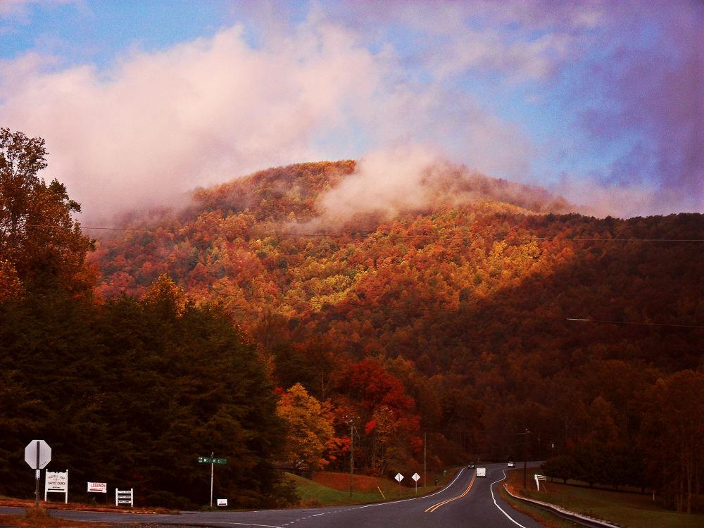 Mountain Range 2 by Liv Drum
