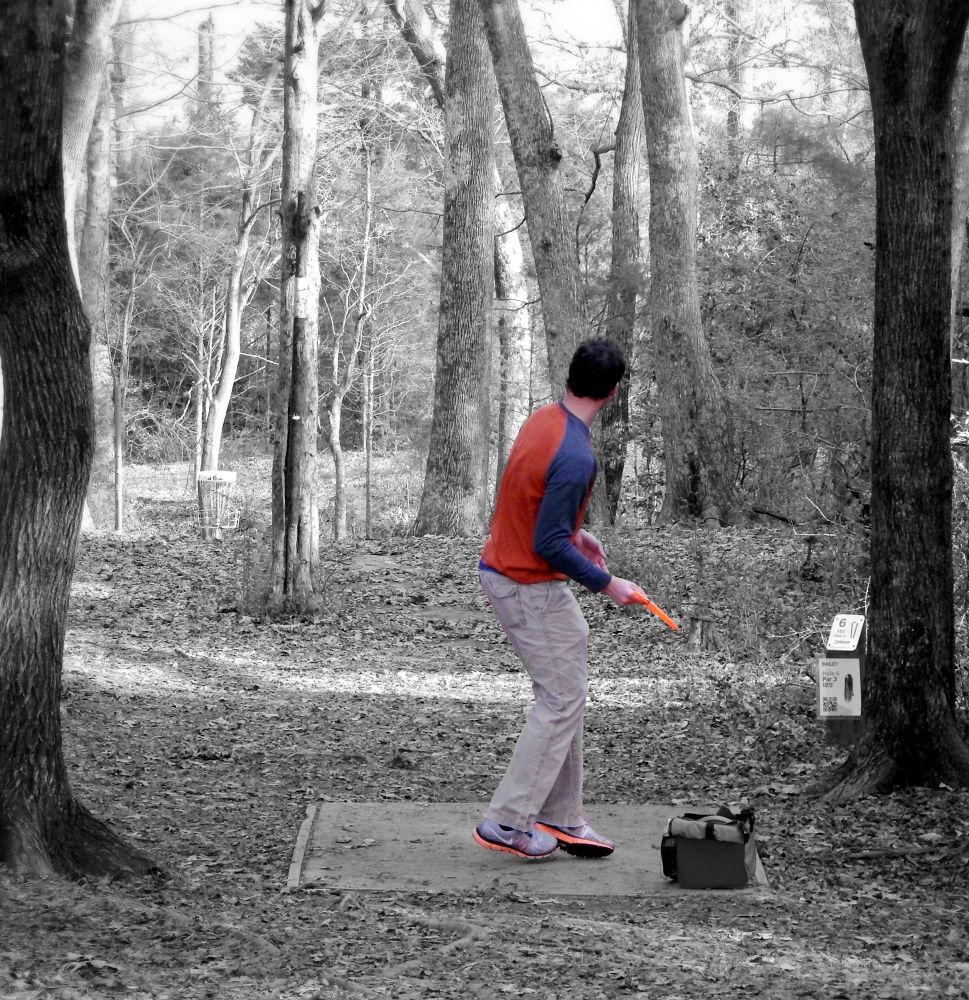 Dad Disc Golf 3 by Liv Drum