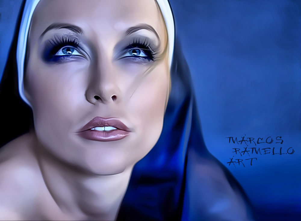Like a nun by Marcos Ramello