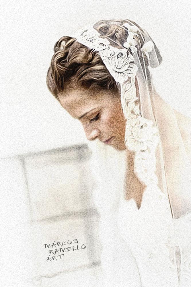 La mariée by Marcos Ramello