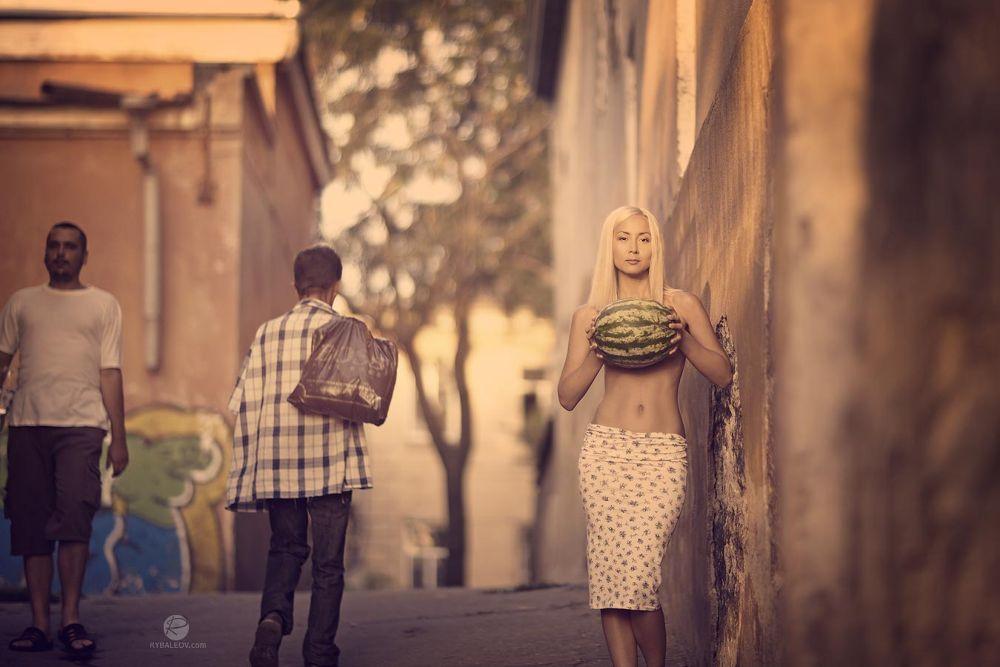 watermelon & Kate by RomanRybaleov