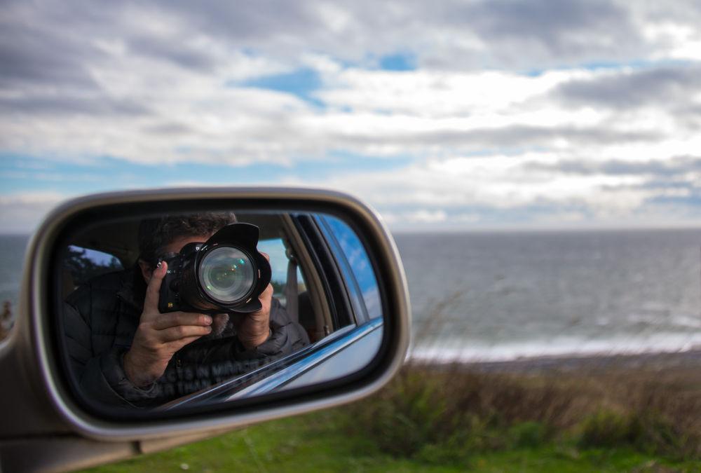 Photo in Random #selfie #self portrait #mirror #reflection #sea #ocean #clouds #teren