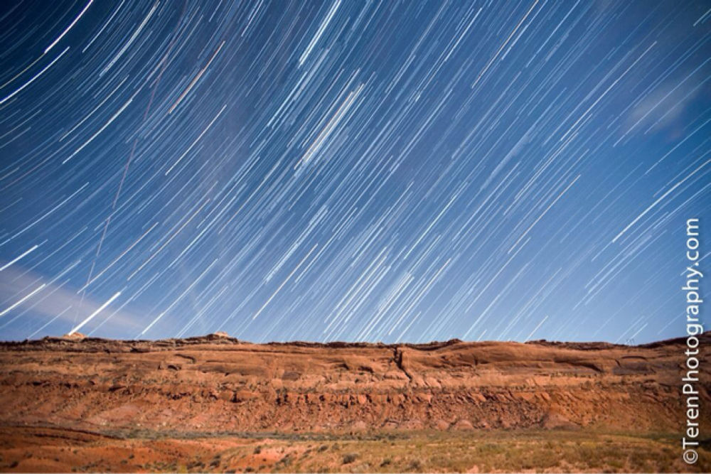 Stars over Comb Ridge by Teren Photography