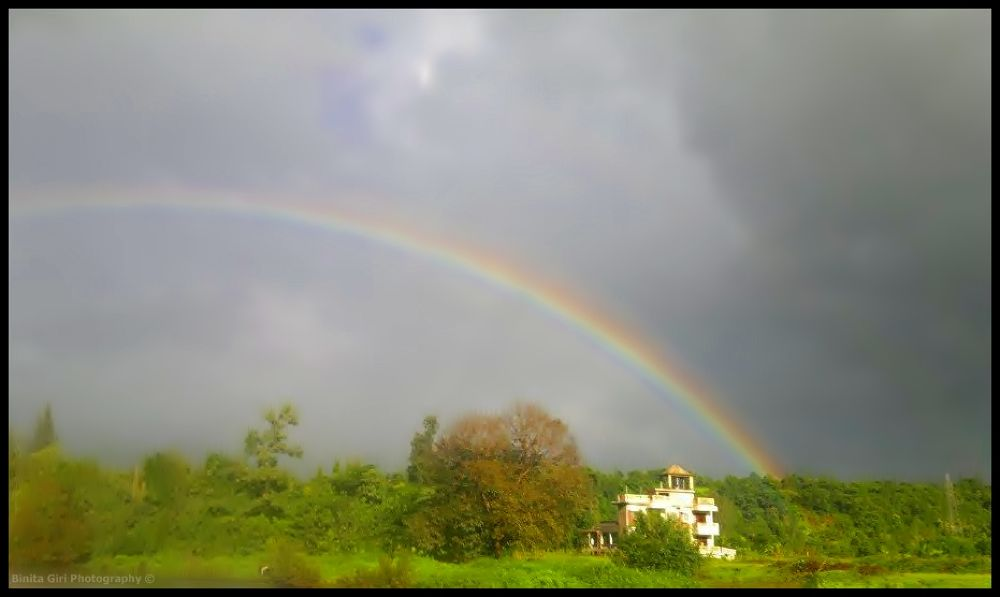 Rainbow by binitagiri