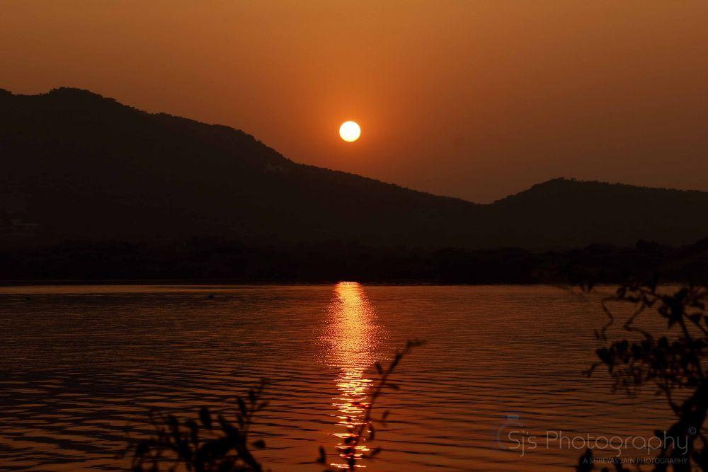 sunset by Shreyas Jain