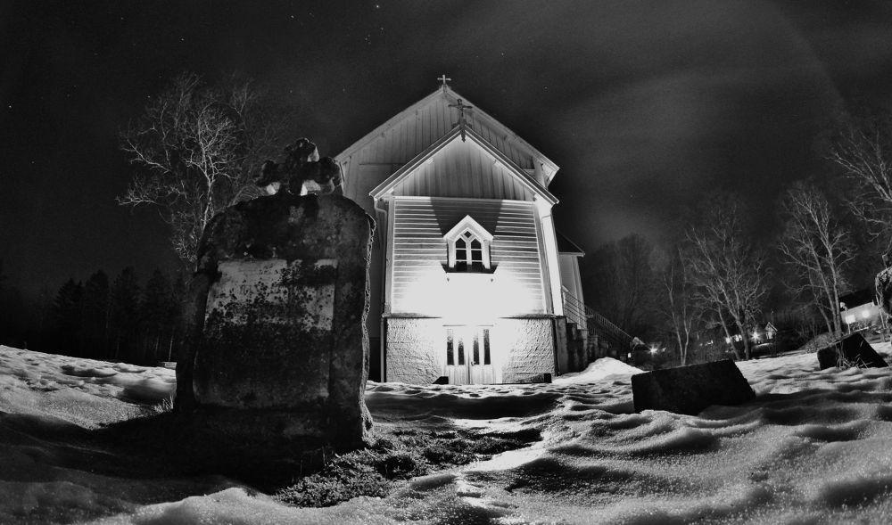 017 (2)...the church here at leland in leirfjord norway by vidar mathisen