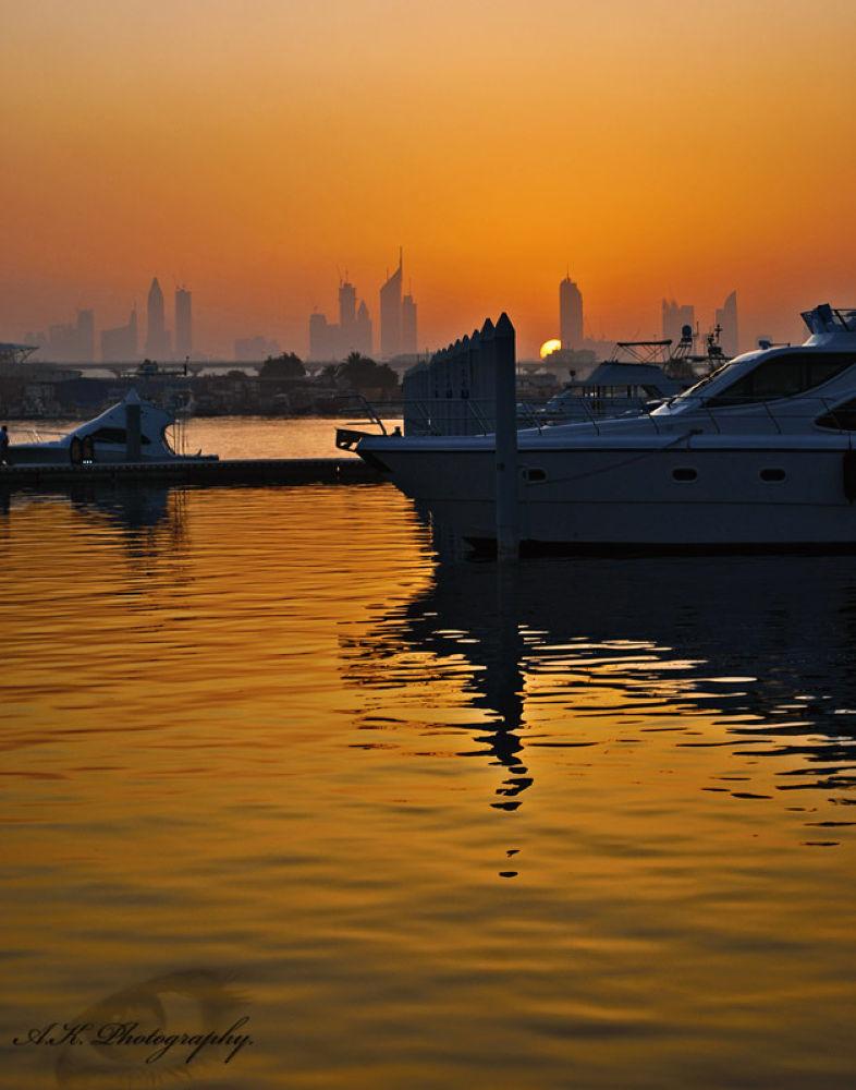 Dubai sunset by AKphotopro