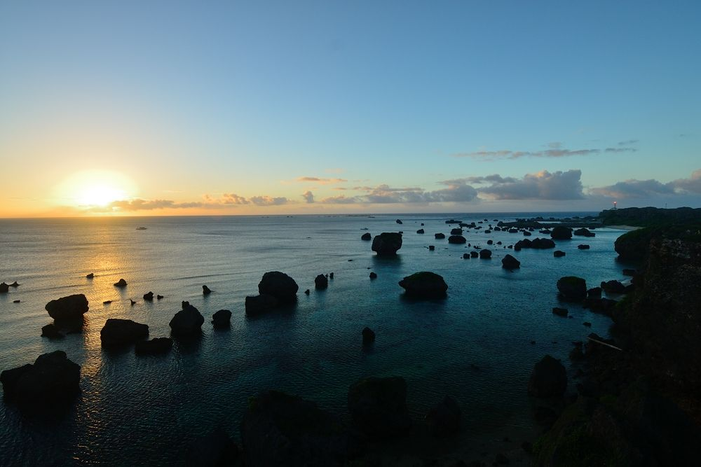 Photo in Landscape #miyako #okinawa #island #dawn #sunrise #ypa2013