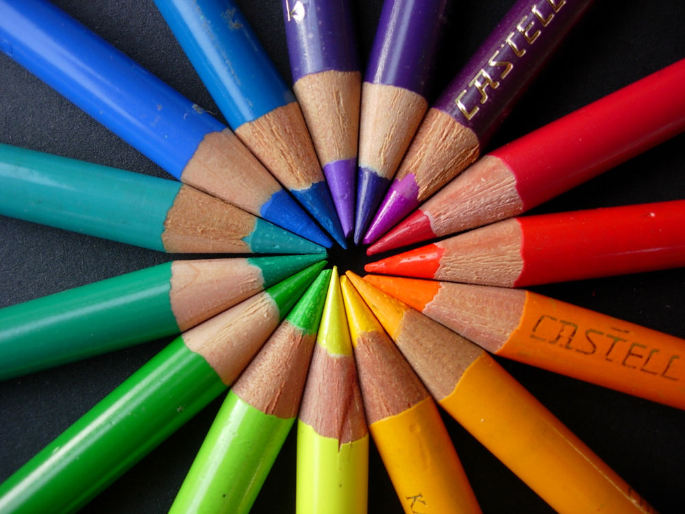 Photo in Still Life #rainbow #pencils