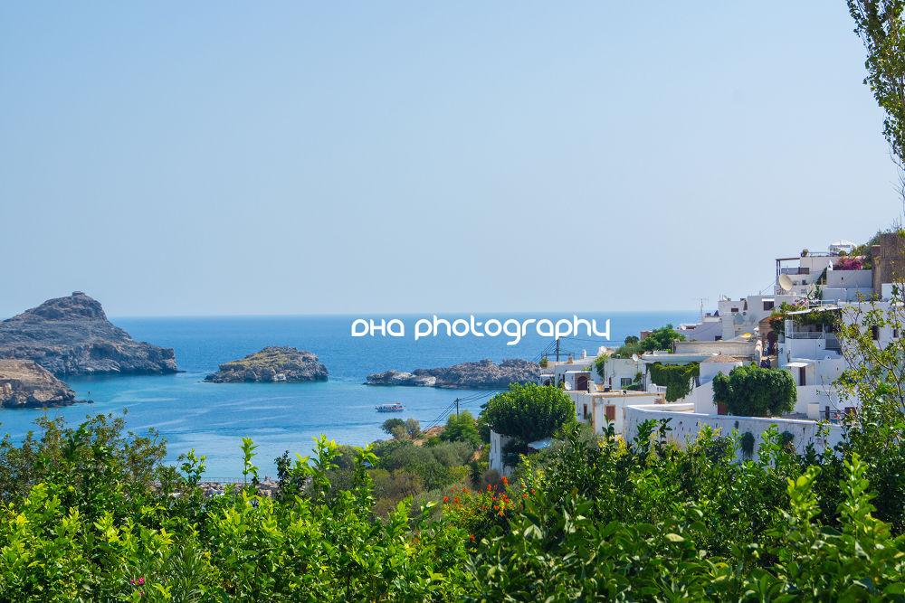 Lindos & Lindos Bay - Rhodes | Rhodos - Greece by DHa.photography