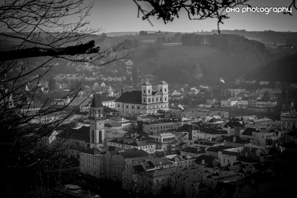Passau in Black & White by DHa.photography
