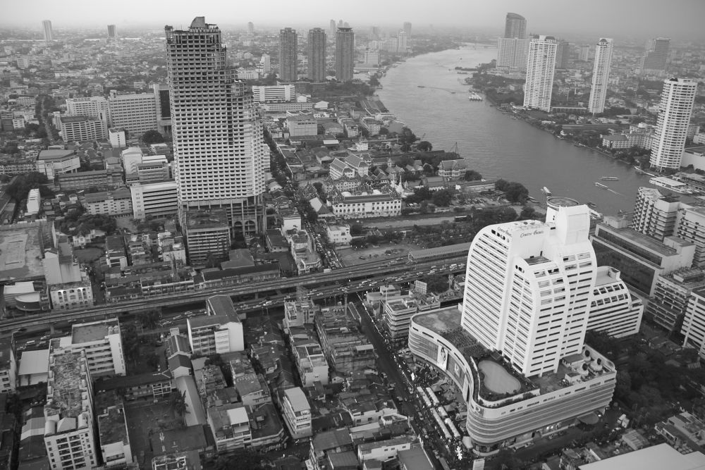 special view on Bangkok by hamadesign