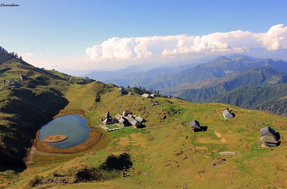 Prashar lake Mandi North India !! by chandanbhatia