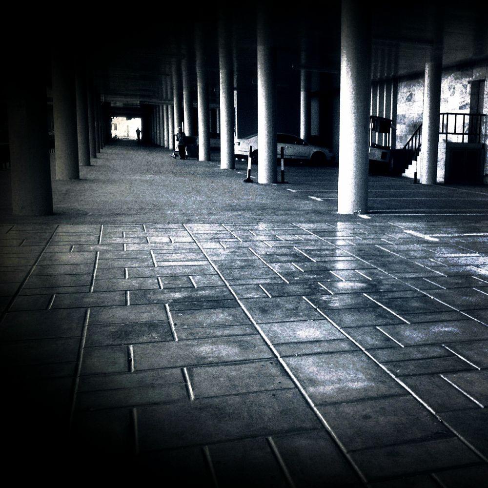 Dark corridor by Anna mlitan