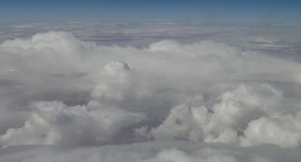 The Sky From the plane  by Anna mlitan