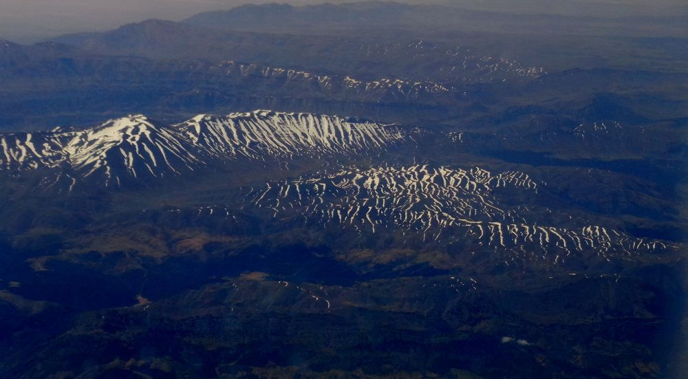 Ifrane - Morocco  : from the plane by Anna mlitan