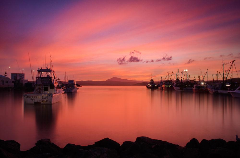 Last Sunset of 2013 by Jacqueline Barkla